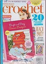 INSIDE CROCHET UK MAGAZINE 1 FREE GIFT SUMMER BACKPACK PATTERN ISSUE 92