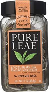 Pure Leaf Iced Black Tea with Peach 16 Ct (Pack of 3)