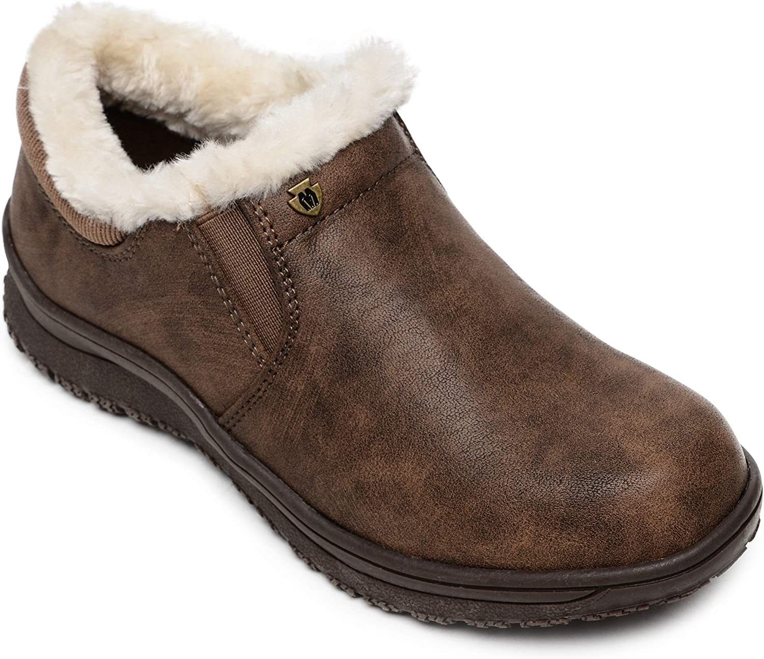 Minnetonka Women's Erie Free shipping on posting reviews Faux Slip-On It is very popular Fur Boots