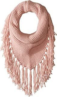 Women's Triangle Snood with Fringe