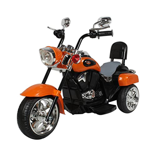 Baybee Battery Operated Cruiser Bike (Orange)