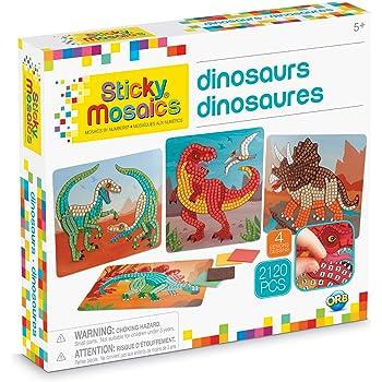 Orb Sticky Mosaics Dinosaurs