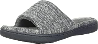 Women's Space Dyed Andrea Slide Slipper with Moisture Wicking for Indoor/Outdoor Comfort and Arch Support