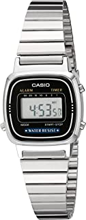 Casio Womens LA670WA-1 Daily Alarm Digital Watch