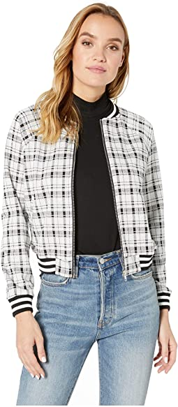 Well Plaid French Terry Jacket