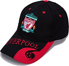 AJBOY Football Club Embroidered Baseball Cap Soccer Team Logo Adjustable Cap for Soccer Fans