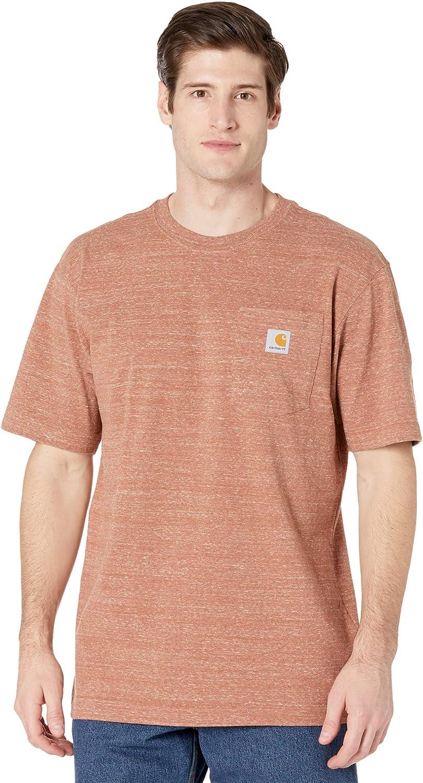 Amazon Com Carhartt Men S K87 Workwear Pocket Short Sleeve T Shirt Regular And Big Tall Sizes Clothing