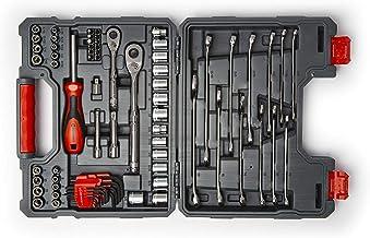 "Crescent 70 Pc 1/4"" & 3/8"" Drive 6 & 12 Point Standard SAE/Metric Mechanics Tool Set - CTK70C"