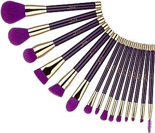 Jessup 15pcs Makeup Brush Set Powder Foundation Eyeshadow Beauty Tools Kit T114