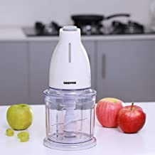 Geepas 500W Mini Food Processor – 700ML Capacity Food Chopper, 6 Pcs Stainless Steel for Blending & Chopping – Perfect for...