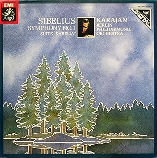 "SIBELIUS シベリウス 交響曲1番/組曲「カレリア」 [12"" Analog LP Record]"