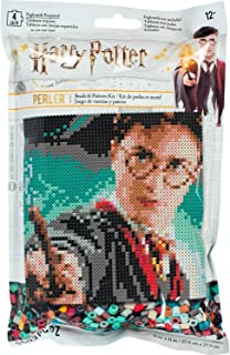 Perler 80-11138 Harry Potter Pattern and Fuse Bead Kit, x 11'', 3503pc, Multicolor