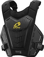 EVS Sports Men's Roost Deflector (REVO 4) (Black/Hi-Viz, Adult (L/XL))