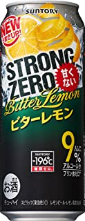 サントリー チューハイ -196℃ ストロングゼロ ビターレモン 500ml