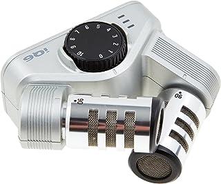 Zoom IQ6/If - Micrófono X/Y para Iphone5/ Ipod Touch/Ipad Mini, Plateado