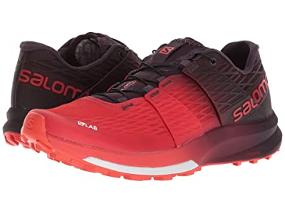 Salomon S-Lab Sense Ultra (Racing Red/Maverick/White) Athletic Shoes