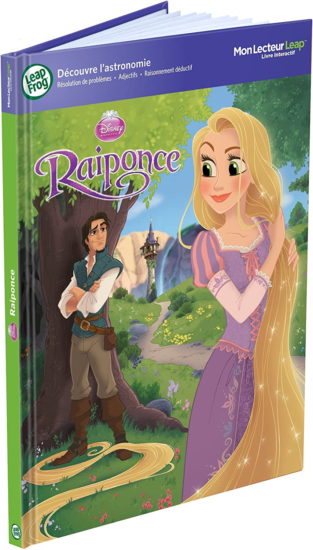 LeapFrog Tag Book  Rapunzel & Tangled (French Version)