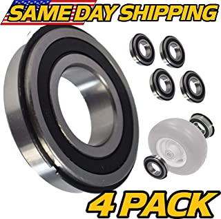 (4 Pack) Bad Boy Mowers - Front Wheel Bearing for MZ, ZT Elite, 022-8049-00 - HD Switch