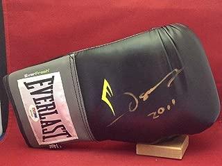 Oscar De La Hoya signed Everlast Boxing Glove PSADNA Cert #P97337 - Autographed Boxing Gloves