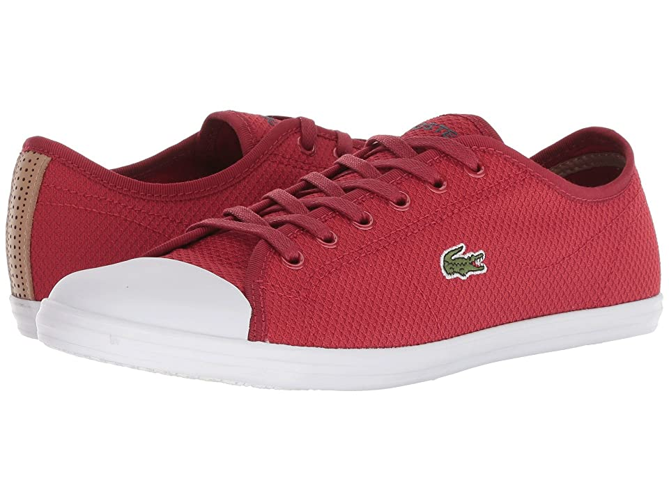 Lacoste Ziane Sneaker 318 2 (Red/White) Women