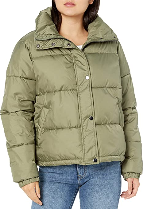 The Drop Women's Dani Recycled Poly Puffer Jacket