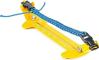 Fstop Labs Paracord Jig Bracelet Kit, Adjustable Length Paracord Bracelet Maker Kit Metal Weaving DIY Craft Paracord Tools