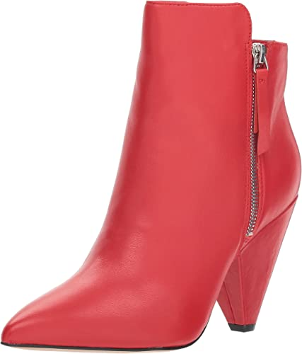 Kenneth Cole New York damen& 039;s Galway Side Zip Heeled Stiefelie Ankle Stiefel, rot, 8.5 M US