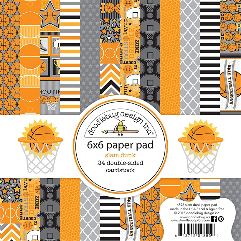 DOODLEBUG 4895 Double-Sided Paper Pad (24 Pack), 6