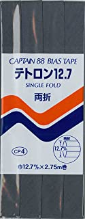 CAPTAIN88 テトロン12.7 両折 巾12.7mmX2.75m巻 【COL-385】 CP4-385