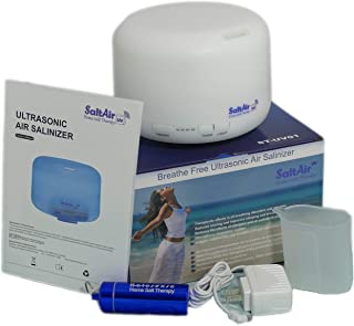 SaltAir UV - Home Salt Therapy - Helps You Breath and Sleep Better Naturally - Asthma, Bronchitis, COPD, Cystic Fibrosis, Snoring and Other Lungs & Breathing Conditions