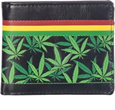 Shag Wear Men's Bifold Wallet Rasta