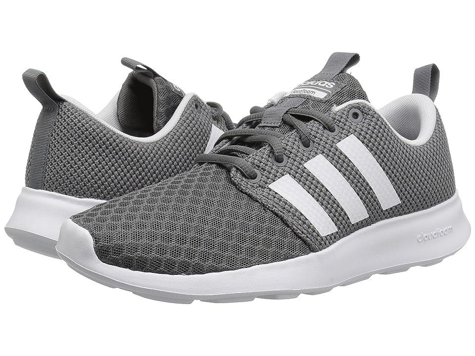 adidas Cloudfoam Swift Racer (Grey/Black/White) Men