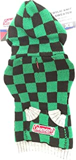 Coleman Acrylic Knit Hooded Sweater for Dog- XS