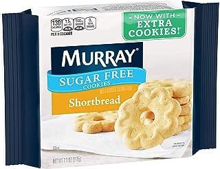 Murray Sugar Free Cookies, Shortbread, 7.7 oz Tray(Pack of 12)