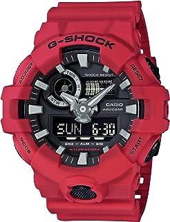 [カシオ] 腕時計 ジーショック G-SHOCK GA-700-4AJF レッド