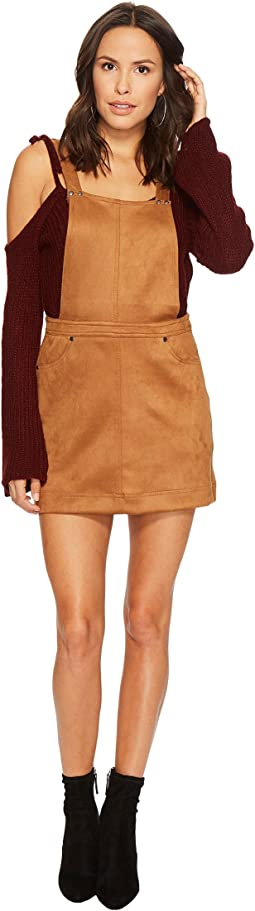 Jack by BB Dakota - Jaime Faux Suede Overall Dress