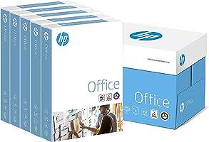 HP Office - Papier Multifonction Blanc 80 g/m² A4 - Carton de 5 x 500 Feuilles