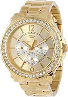 Juicy Couture Women's 1901082 Pedigree Gold Plated Bracelet Watch