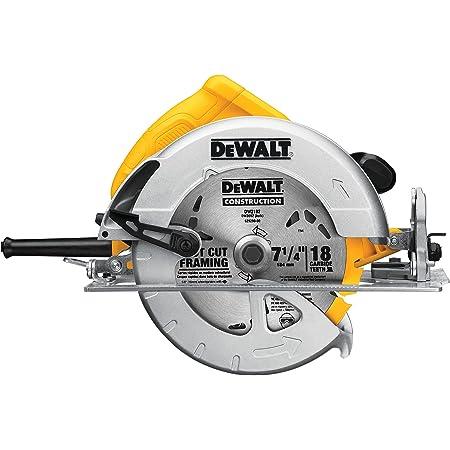 DEWALT 7-1/4-Inch Circular Saw, Lightweight, Corded (DWE575)