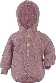 Engel Baby Jacke mit Kapuze Wollfleece