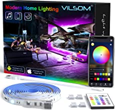TV Led Backlight 14.3 Feet, App Control Music Sync for 65-75in TV/PC with Remote, RGB 5050 USB Led Strip Lights for TV, Be...