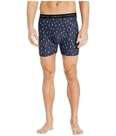 ExOfficio Give-N-Go(r) Printed Boxer Brief (Navy Fish & Hook) Men
