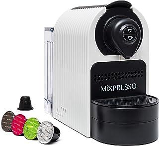 Mixpresso Espresso Machine for Nespresso Compatible Capsule, Single Serve Coffee Maker Programmable Buttons for Espresso P...