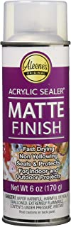 Aleene's 26413 Spray Matte Finish 6oz Acrylic Sealer, Original Version