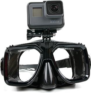 DURAGADGET Gafas de Buceo con Soporte/Montura para cámaras Deportivas GoPro Hero/Hero 4 Black/Silver/Hero+ LCD/Hero 4 Session/Surf