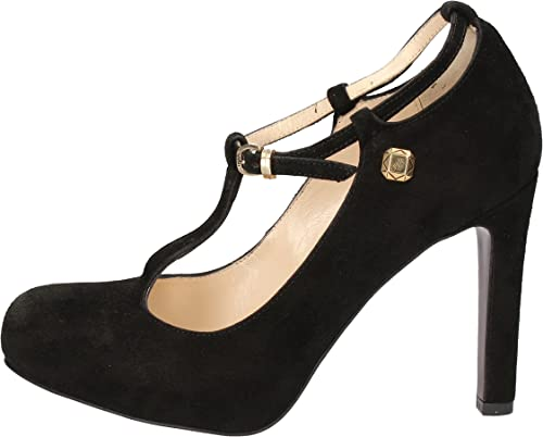 LIU JO zapatos de salón mujer Gamuza negro