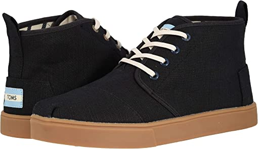 Black Heritage Canvas Cupsole