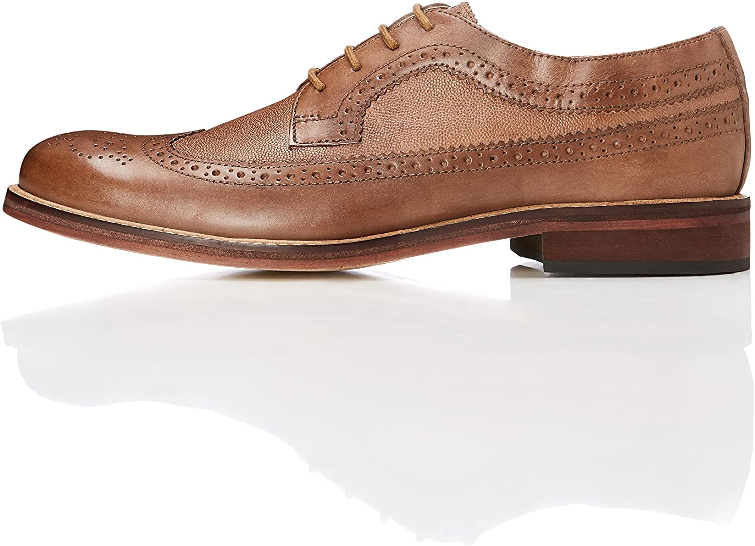 FIND Men's Derby in Brogue Style Lace Up