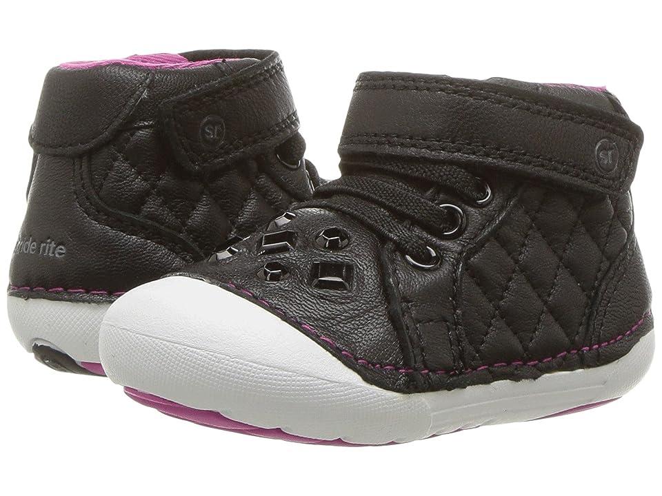 Stride Rite Soft Motion Jada (Infant/Toddler) (Black) Girls Shoes