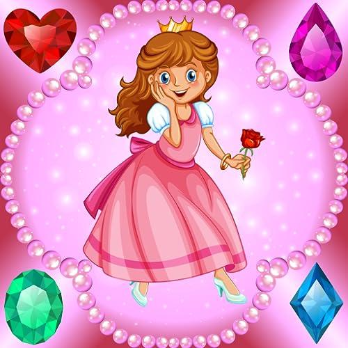 Prinzessin Malvorlagen - Spiele für Mädchen : Prinzessinnen, Schlösser und Juwelen !